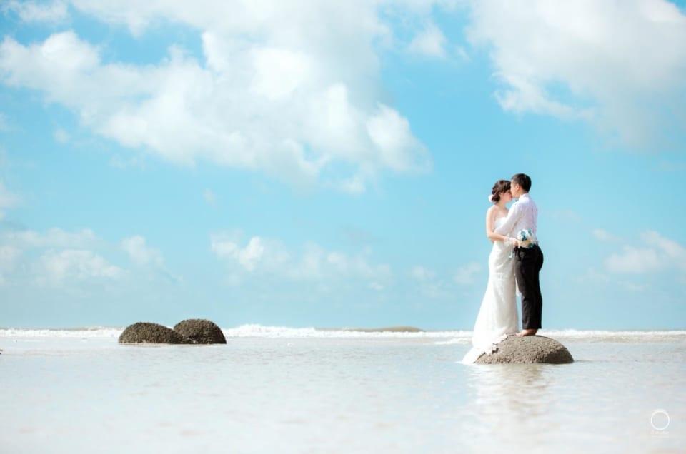 Dịch vụ chụp hình cưới kèm du lịch Vũng Tàu của Lavender