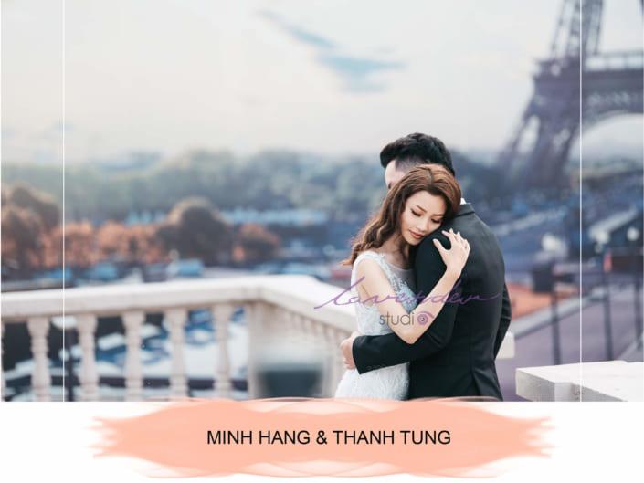 Hằng- Tùng| Wedding Album| Phim trường Paris TPHCM