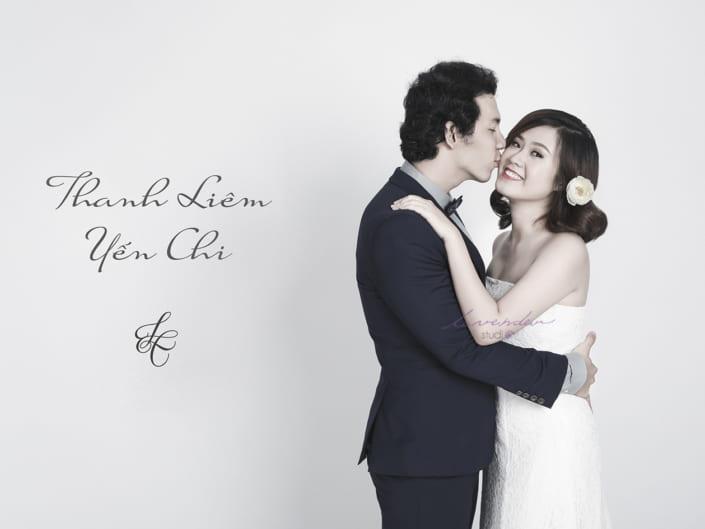 Album ảnh cưới tại Studio phong cách Hàn Quốc
