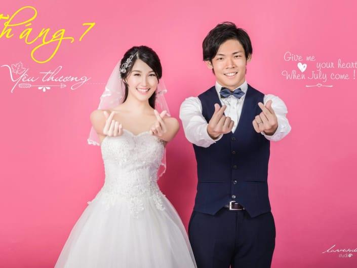 Album cưới Hàn Quốc