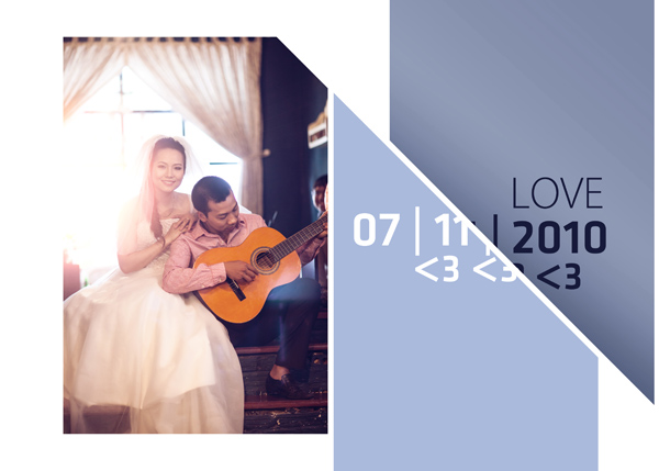 Album cưới Hiếu - Thu tại phim trường HCM