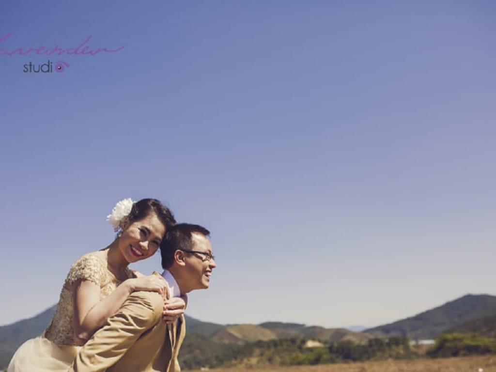 Chụp hình cưới Đà Lạt với Sơ rê