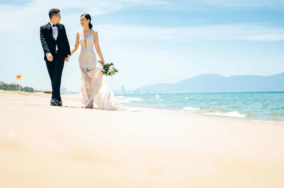 Chụp hình cưới tại hòn Móng Tay