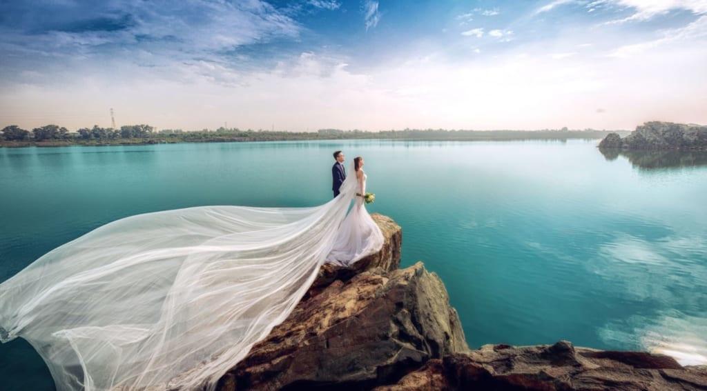 Chụp hình cưới Tp.HCM tại Hồ Đá Thủ Đức