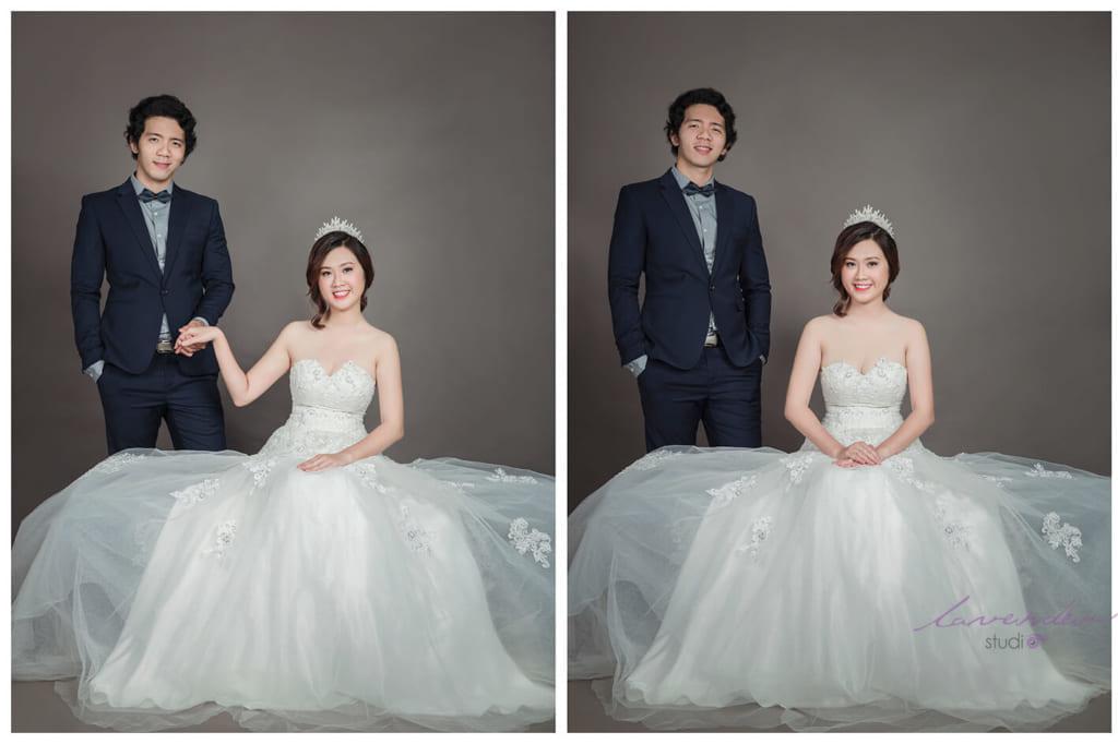 Chụp hình cưới tại studio Tp.HCM