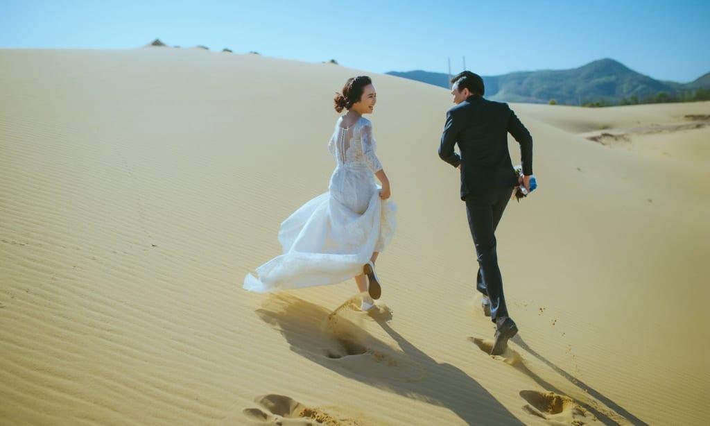 Du lịch kết hợp chụp hình cưới Phan Thiết rất đẹp